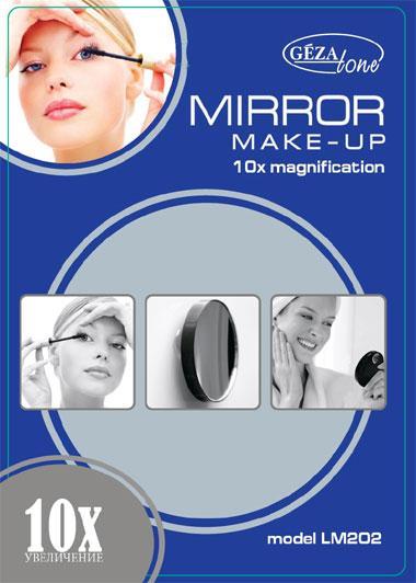 Косметическое зеркало с 10ти-кратным увеличением Gezatone LM202 Созвездие Красоты 449.000