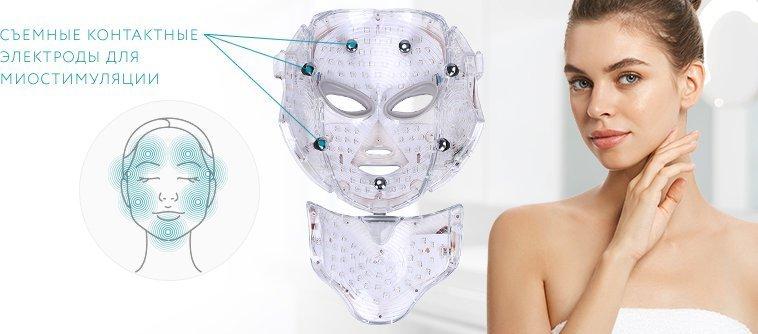 LED маска Gezatone