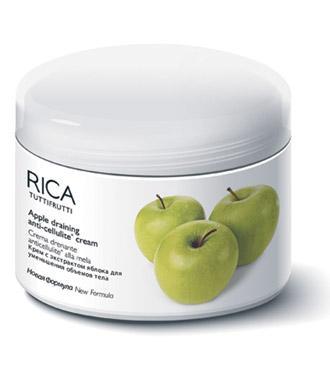 Массажный крем для похудения RICA яблочный, 500 мл Созвездие Красоты 1460.000