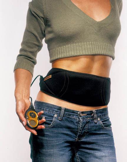 Миостимулятор для тренировки мышц пресса Slendertone FLEX SYSTEM FEMALE (модель для женщин) как накачать пресс