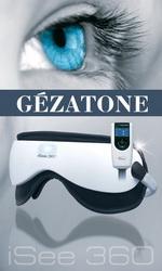 Магнито-акупунктурный массажер для глаз с тепловой, вибромассажной ф-цией и встроенными мелодиями iS-360, Gezatone