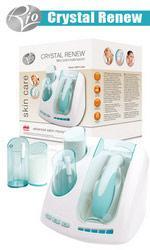 Аппарат для микродермабразии и пилинга лица в домашних условиях Crystal Renew, Rio