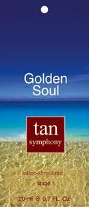 Бальзам-активатор загара Golden Soul 1-я фаза, 20 саше по 20 мл, Tan Symphony Созвездие Красоты 720.000