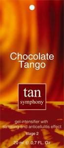 Гель-активатор загара Chokolate Tango 2-я фаза, 20 саше по 20 мл, Tan Symphony (TAN SYMPHONY)