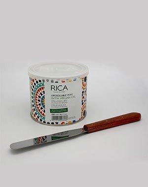Шпатель Rica стальной для нанесения воска Созвездие Красоты 543.000