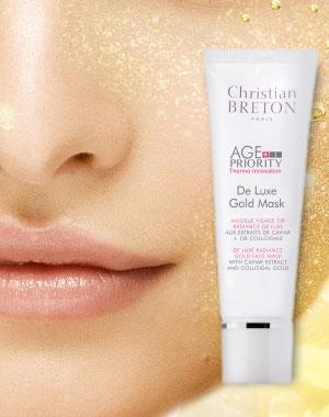 Маска «Золотая роскошь» для увядающей кожи Christian Breton, 50мл, Paris Созвездие Красоты 2290.000