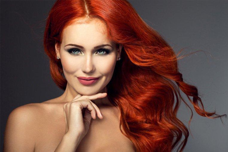Укладка для волос макияж и крема для лица