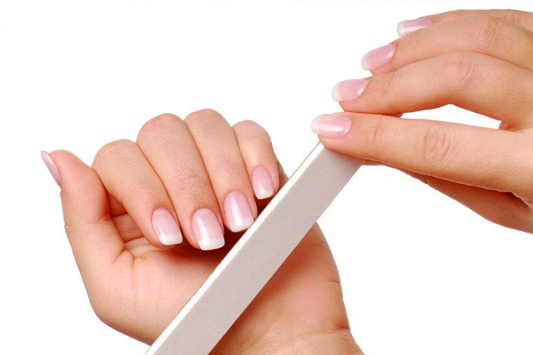 Как клеить накладные ногти?