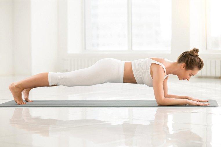 Упражнение для похудения планка: польза, правила выполнения, отзывы