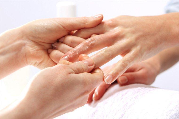 Самомассаж кистей и пальцев рук - точки, зоны массажа