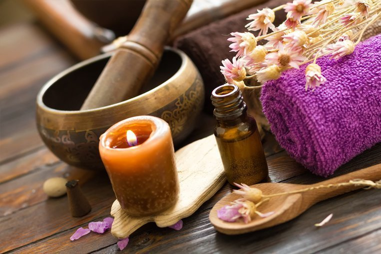 Уход за кожей тела массаж