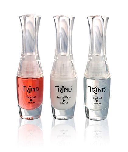 Набор Trind для французского маникюра прозрачно-красный Созвездие Красоты 659.000