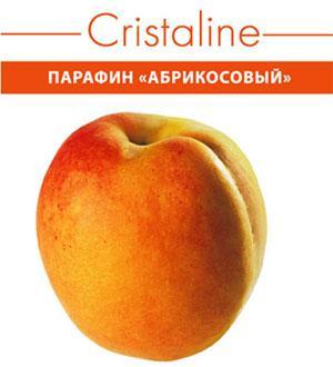 Парафин косметический CRISTALINE абрикосовый, 450гр Созвездие Красоты 390.000