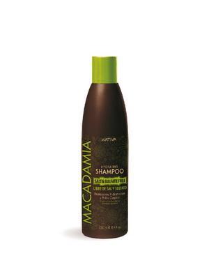 Интенсивно увлажняющий шампунь Kativa для нормальных и поврежденных волос MACADAMIA, 250мл