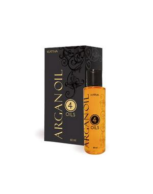 "����������������� �������� ���������� ��� ����� Kativa ""4 �����"" ARGAN OIL, 60��"
