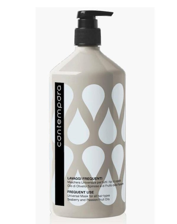 Маска универсальная для всех типов волос с маслом облепихи и маслом маракуйи, Barex, 1000 мл недорого
