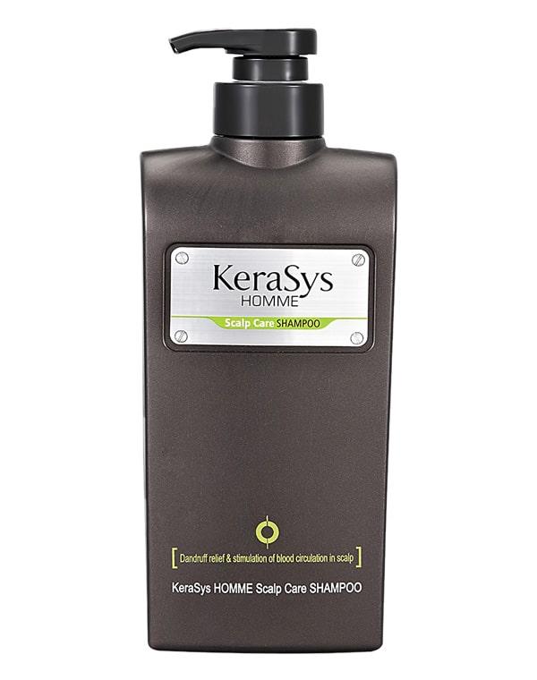 Шампунь мужской для лечения кожи головы KeraSys, 550 мл kerasys esthaar scalp energy shampoo шампунь контроль над потерей волос для нормальной и сухой кожи головы 400 мл