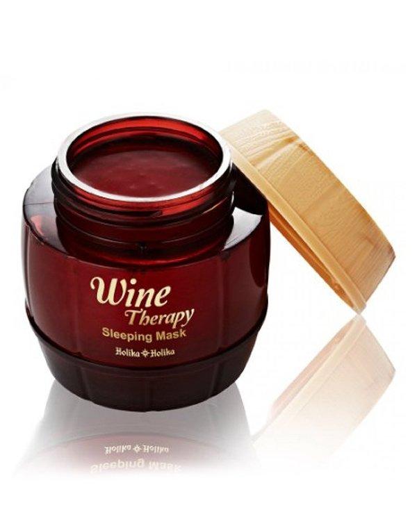 Маска Holika Holika Ночная винная  маска-желе красное вино, Holika Holika