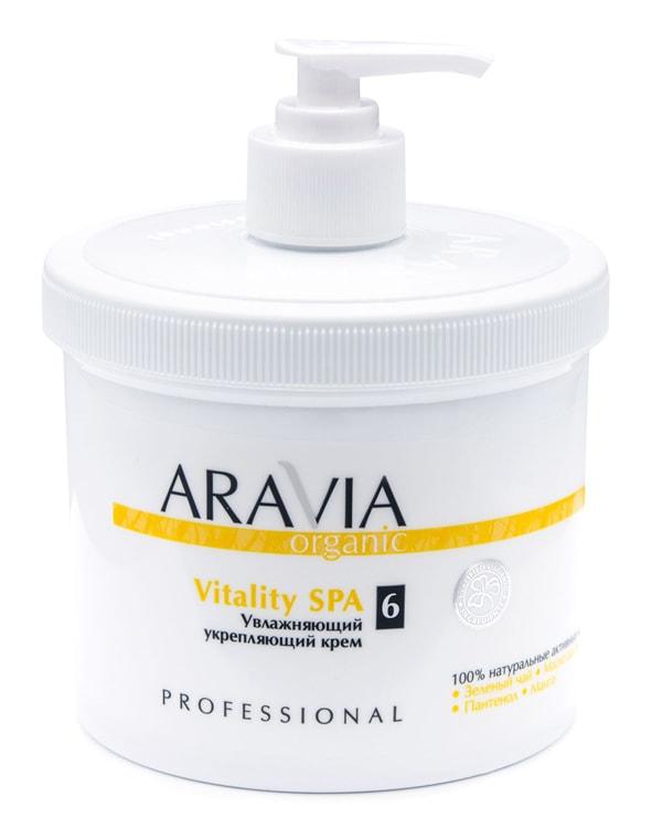 Купить Крем, бальзам Aravia, Увлажняющий укрепляющий крем для тела Vitality SPA, ARAVIA Organic, 300 мл
