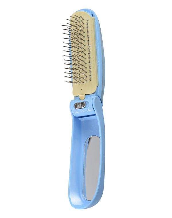 Массажная расческа с магнитной функцией Magic Hair Gezatone, HS178Массажеры для головы<br>Расческа массажер - это портативный прибор для ухода за волосами и кожей головы. Функция вибрации в сочетании с магнитотерапией дарят волосам блеск, силу и сияние здоровья! Регулярное использование помогает остановить выпадение волос.<br>