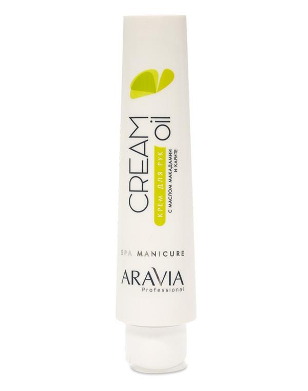 Купить Крем Aravia, Крем для рук Cream Oil с маслом макадамии и карите, ARAVIA Professional, 100 мл