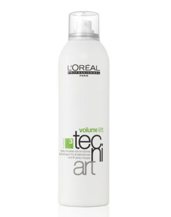 Мусс для прикорневого объема Volume Lift 3 LorealМусс для волос<br>Мусс выпускается в виде спрея. Он придает объем и позволяет экспериментировать с укладками, создавая гладкие, дисциплинированные или волнистые локоны.<br><br>Бренды: Loreal Professional<br>Вид товара: Спрей, мусс<br>Область ухода: Волосы<br>Назначение: Стайлинг, Для объема<br>Тип кожи, волос: Осветленные, мелированные, Окрашенные, Вьющиеся, Сухие, поврежденные, Нормальные, Тонкие<br>Косметическая линия: Линия Tecni Art для укладки волос