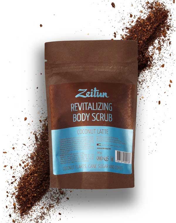 Фото - Скраб для тела Кокосовый латте омолаживающий питательный Zeitun zeitun скраб для тела 4