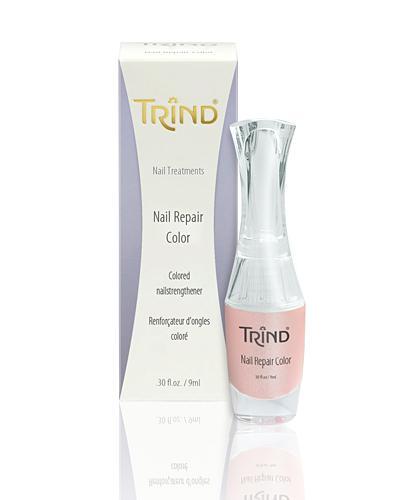 Укрепитель ногтей розовый перламутр Trind, 9 ml