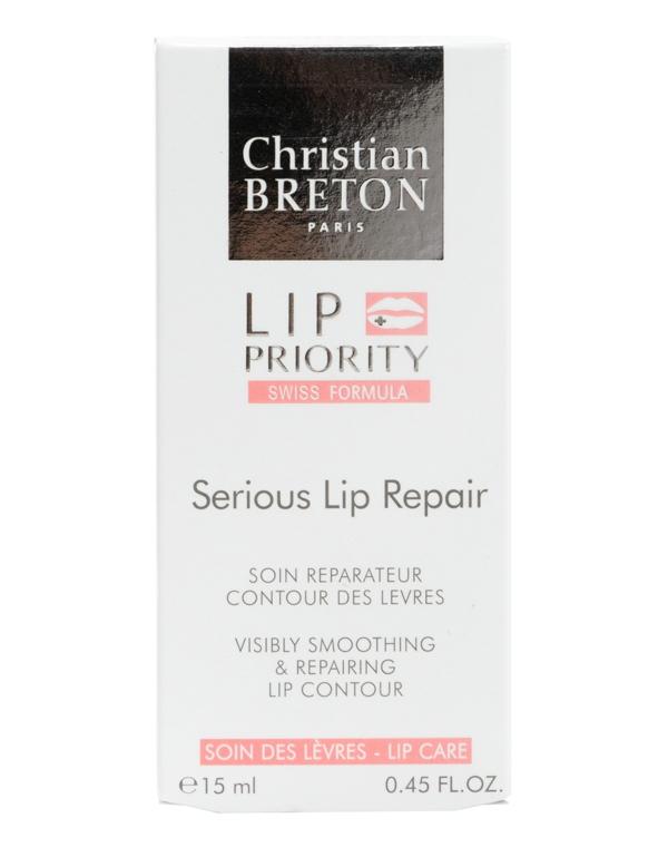Сыворотка, концентрат Christian Breton Сыворотка для губ восстанавливающая Christian Breton, 15мл, Paris