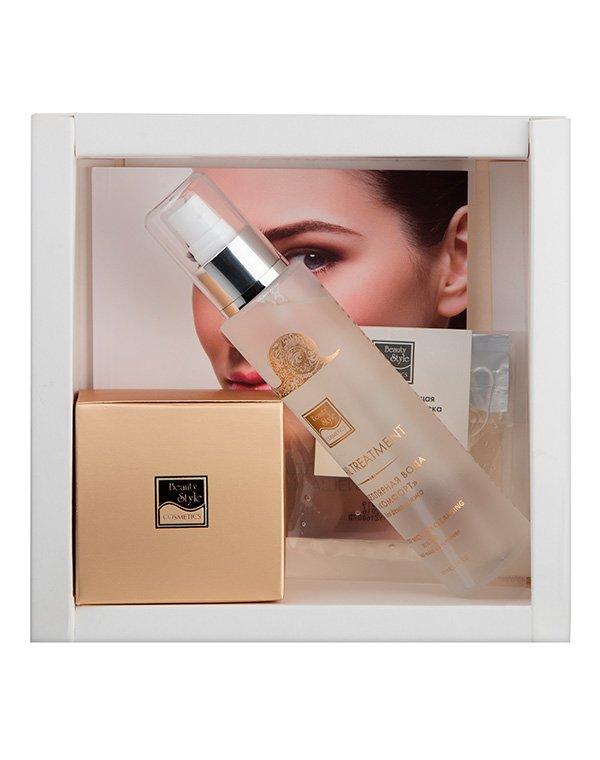 Маска Beauty StyleПодарочные наборы<br>Великолепная идея для подарка и одновременно компактный набор косметики  Beauty Style. Кислородная маска для лица, омолаживающая маска для век и мицеллярная вода для снятия макияжа – всё, что нужно для ежедневного ухода!<br><br>Бренды: Beauty Style<br>Вид товара: Маска, Тоник, лосьон<br>Область ухода: Лицо, Шея и подбородок<br>Назначение: Коррекция морщин и лифтинг, Увлажнение и питание<br>Тип кожи, волос: Сухая, Увядающая, Жирная и комбинированная, Нормальная, Чувствительная, С куперозом<br>Возрастная группа: Более 40, До 30, До 40