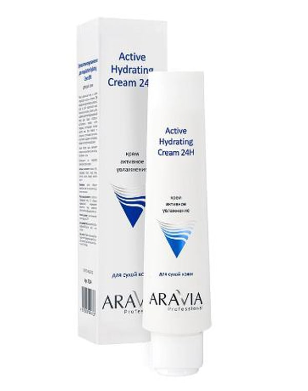 Купить Крем, бальзам Aravia, Крем для лица активное увлажнение, ARAVIA Professional, 100 мл