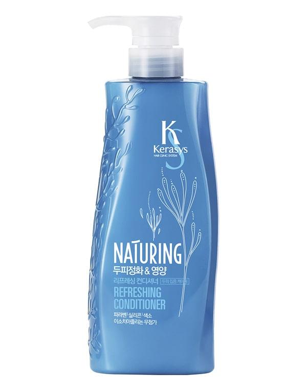 Кондиционер для волос Naturing Уход за кожей головы с морскими водорослями KeraSys, 500 мл oriental premium кондиционер восстановление 500 мл kerasys