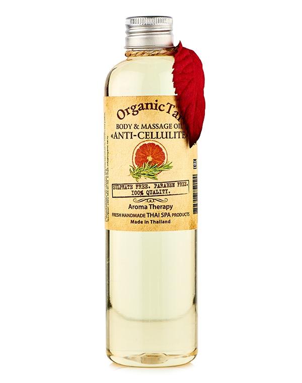 Масло для тела и аромамассажа «Антицеллюлитное» Organic Tai, 260 мл антицеллюлитное масло для массажа отзывы
