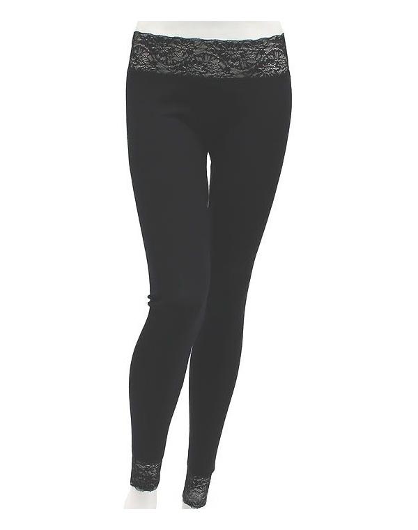 Купить Белье, одежда CRATEX, Женское термобелье, брюки Люкс (цвет черный) Шерсть+Шелк , Cratex, Черный