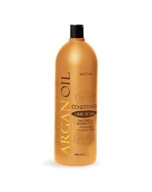Кондиционер, бальзам Kativa Увлажняющий кондиционер Kativa для волос с маслом Арганы ARGAN OIL, 1000мл