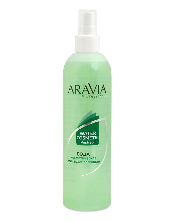 Вода косметическая минерализованная с мятой и витаминами ARAVIA Professional, 300 мл