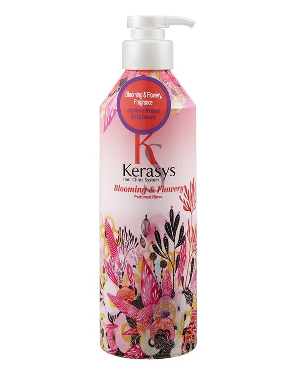 Кондиционер для волос Fleur KeraSys, 600 мл кондиционер kerasys для волос увлажняющий 600 мл