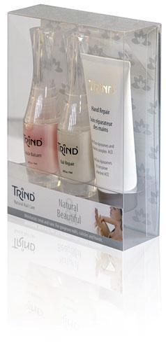 Набор Trind & Natural and Beautiful Set&  - Лаки и средства для ногтей