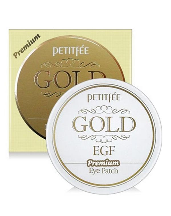 Набор гидрогелевых патчей для век Золото EGF Premium Gold & EGF Hydrogel eye Patch, Petitfee, 60 шт