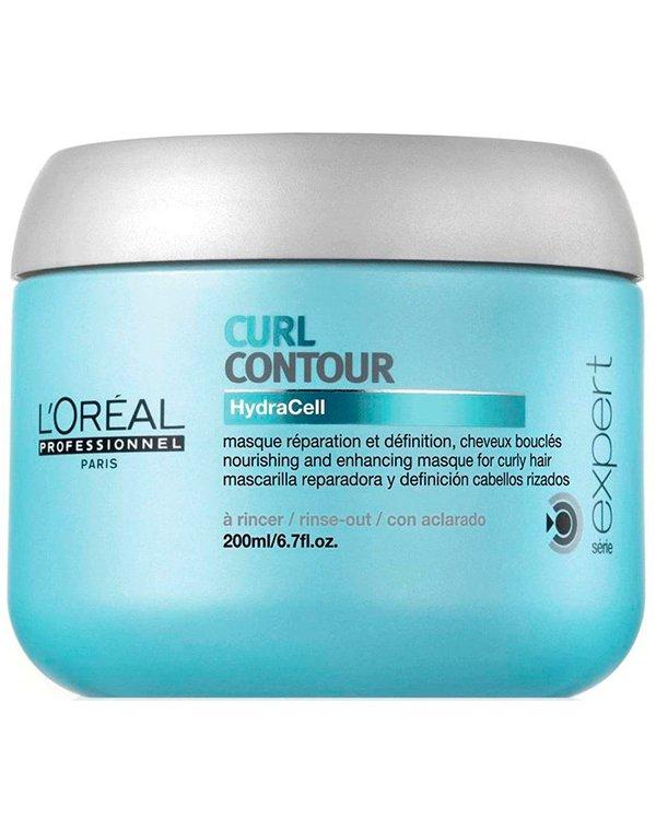 Маска для волос Loreal Professional Маска-питание для четкости контура завитка для вьющихся волос Curl Contour, Loreal