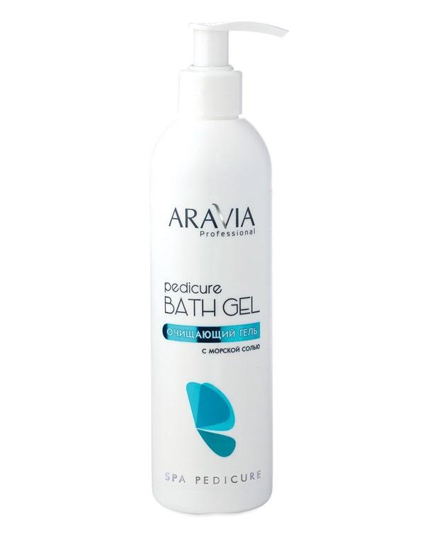 Купить Гель, флюид Aravia, Очищающий гель с морской солью Pedicure Bath Gel , ARAVIA Professional, 300 мл
