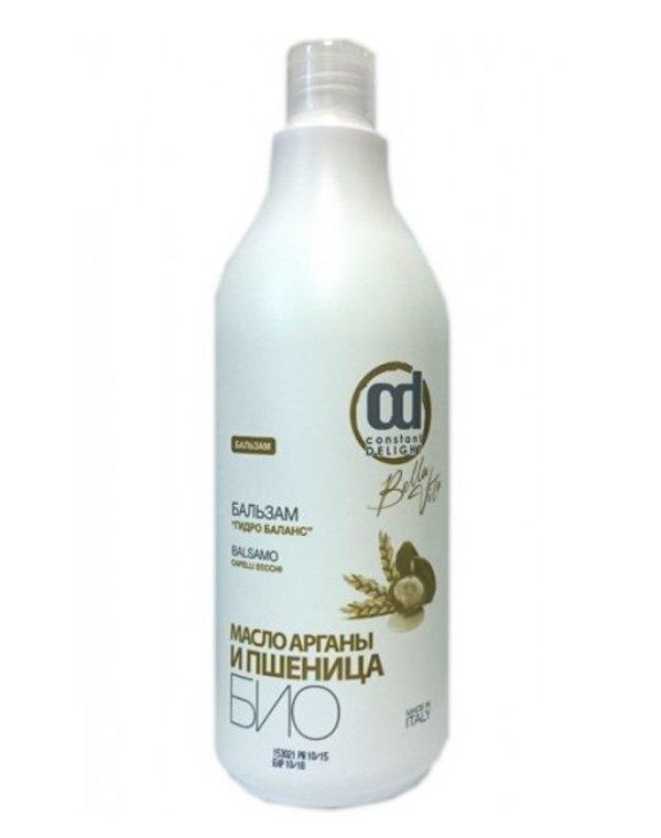 Бальзам Гидро Баланс, Constant DelightБальзамы для сухих волос<br>Нежный бальзам деликатно кондиционирует волосы. Его формула включает масла пшеницы и арганы, которые насыщают волосяные стержни влагой. Даже жесткие, ломкие и непослушные локоны препарат делает мягкими, шелковистыми и гладкими. Прическа становится более о...<br><br>Бренды: Constant Delight<br>Вид товара: Кондиционер, бальзам<br>Область ухода: Волосы<br>Назначение: Увлажнение и питание, Ежедневный уход<br>Тип кожи, волос: Осветленные, мелированные, Окрашенные, Вьющиеся, Сухие, поврежденные, Жирные, Нормальные, Тонкие<br>Косметическая линия: Bio Grano Линия гидро баланс био<br>Объем мл: 1000
