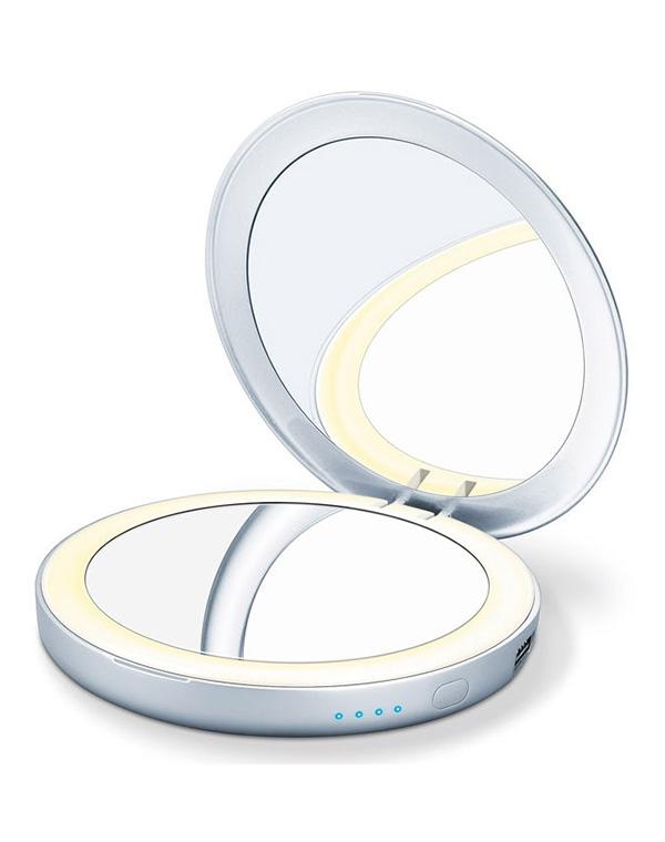 лучшая цена Зеркало косметическое BS39 Power bank, Beurer