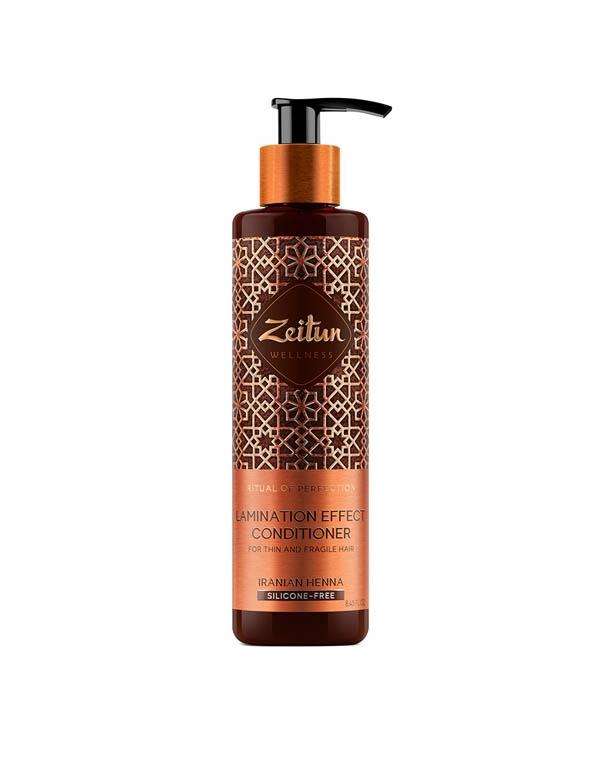 Купить Кондиционер, бальзам Zeitun, Бальзам-кондиционер для волос с эффектом ламинирования Ритуал совершенства с иранской хной Zeitun