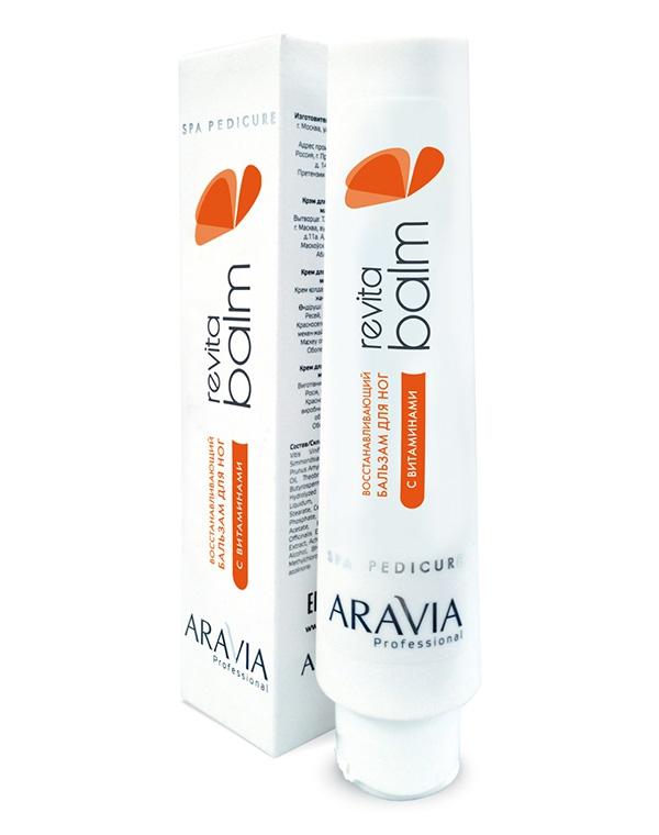 Крем AraviaКрема для ног<br>Восстанавливающий крем-бальзам с легкой консистенцией для ежедневного ухода за кожей ног. Устраняет сухость и шелушения, снимает усталость. Подходит для уставшей кожи ног.<br><br>Бренды: Aravia<br>Вид товара: Крем<br>Область ухода: Ноги<br>Назначение: Увлажнение и питание<br>Косметическая линия: Линия ARAVIA Professional