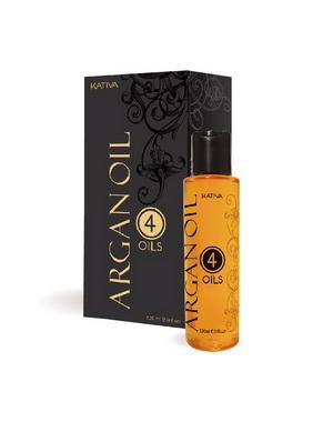 Сыворотка, флюид Kativa Восстанавливающий защитный концентрат для волос Kativa 4 масла ARGAN OIL, 120мл