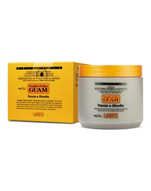 Маска антицеллюлитная для живота и талии, GUAM guam для живота и талии