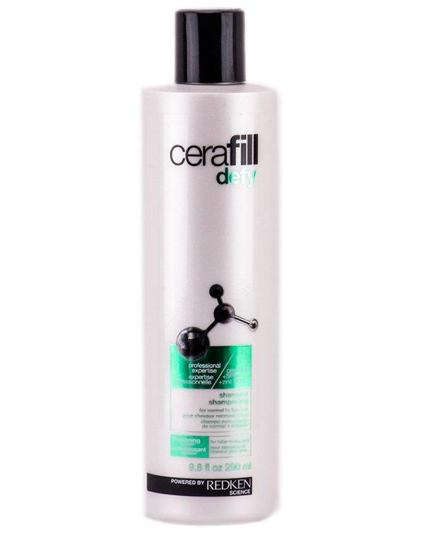 Шампунь для поддержания плотности нормальных и истончающихся волос Cerafill Defy Shampoo Redke