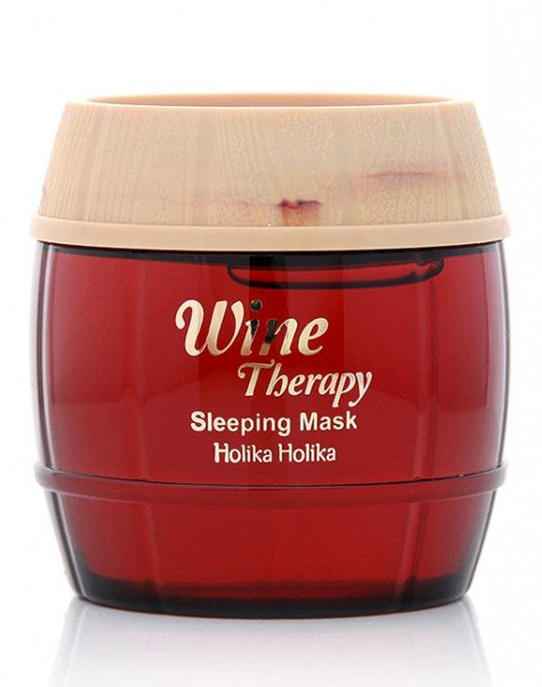 Маска Holika Holika Ночная винная  маска-желе красное вино, Holika Holika holika holika ночная маска для лица super food антивозрастная 10 г