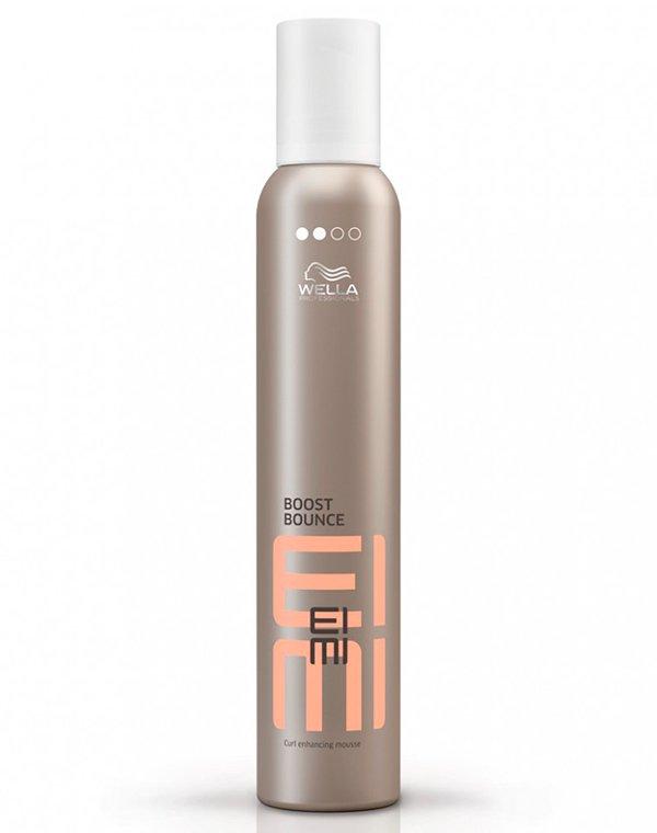 Пена для создания локонов Boost Bounce WellaСредства для укладки волос<br>Пена для создания воздушных и устойчивых локонов. Защищает волосы от высоких температур.<br><br>Бренды: Wella Professional<br>Вид товара: Спрей, мусс<br>Область ухода: Волосы<br>Назначение: Стайлинг, Для завивки<br>Тип кожи, волос: Осветленные, мелированные, Окрашенные, Вьющиеся, Сухие, поврежденные, Нормальные, Тонкие<br>Косметическая линия: Линия Wella Eimi стайлинга